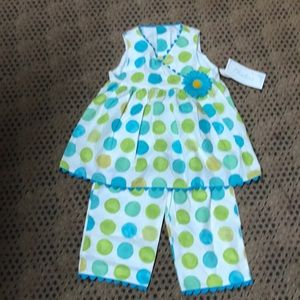 New with tags from Chabre' pant set size 4